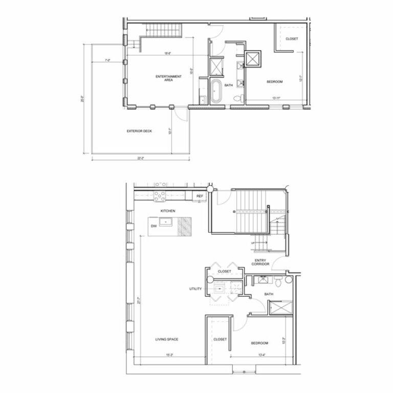 Floor Plan 1J