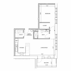 Floor Plan 1P